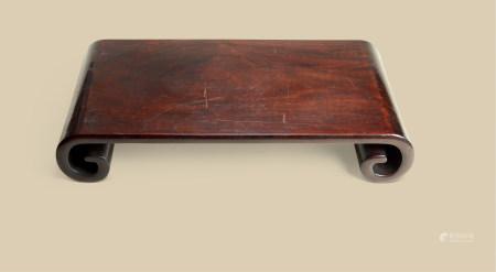 清代(1644-1911) 红木下卷