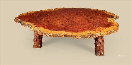 瘿木随形大桌