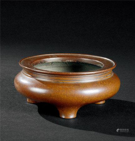 清代(1644-1911) 铜鬲式炉