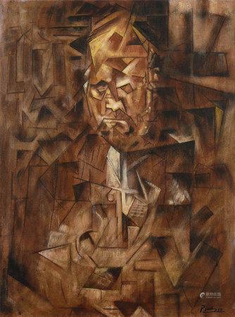 毕加索(1881-1973)  人物 油画