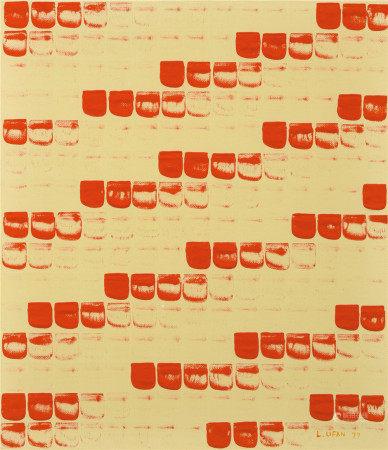 李禹焕(b.1936)  从点No.790268 油画