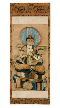 佛像 刺绣