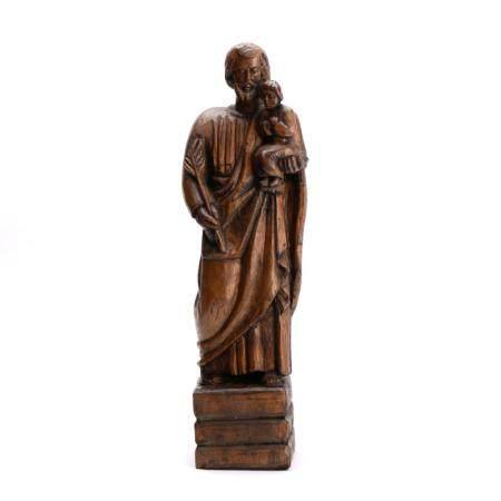 São José escultura em madeira