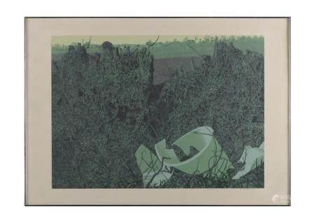 STÖRTENBECKER, litografia s/papel, 50 x 69 cm.