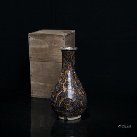 宋 吉州窑玉壶春瓶
