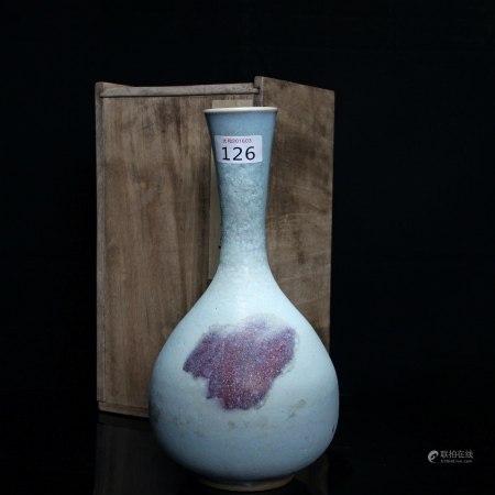 元 钧窑胆瓶