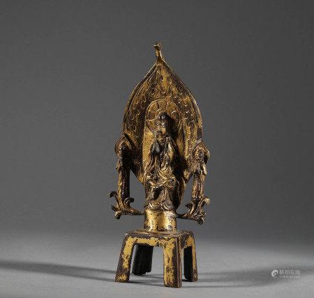Northern Qi Sanlian Buddha Statue