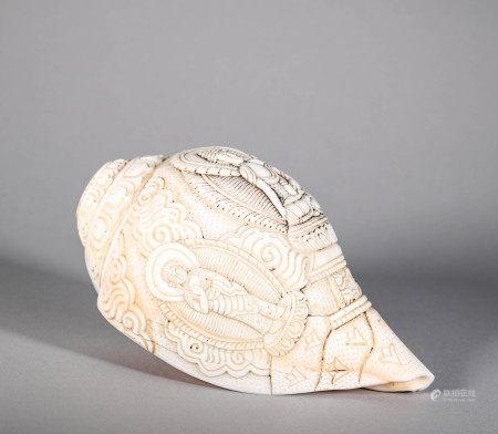 Trumpet Triton in Qing Dynasty