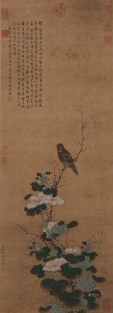 蔣廷錫《花鳥》