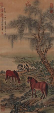 趙孟頫《馬》