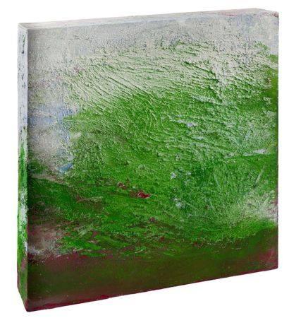 "ALBERTO REGUERA (1961 / .) ""Lontaine Print. Three-dimensional abstract landscape""."