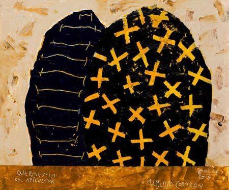 "ALBERTO CORAZÓN (1942 / 2021) ""The beekeeper's sleeplessness""."