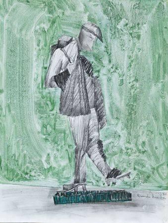 """FRANCISCO LEIRO LOIS (1957 / .) """"Treading Grass"""" 2003"""