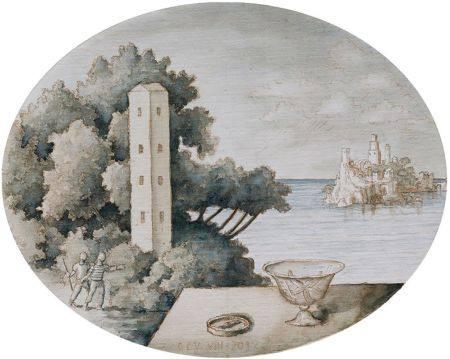 "GUILLERMO PÉREZ VILLALTA (1948 / .) ""Landscape"" 2012"
