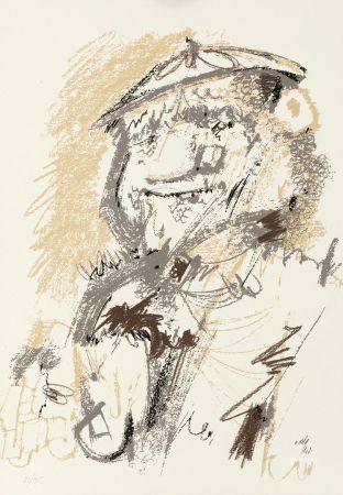 """ÁLVARO DELGADO (1922 / 2016) """"Lazarillo de Tormes"""", 1978"""