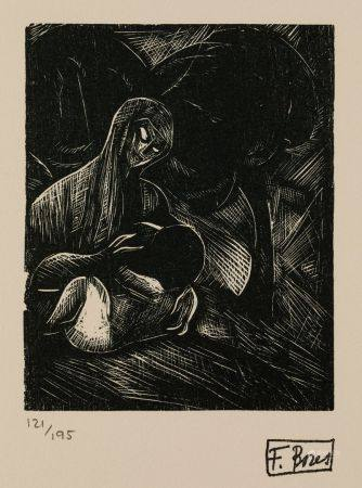 """FRANCISCO BORES (1898 / 1972) """"Xylographs"""", 1977"""