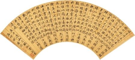 Zha Sheng 1650-1707 查昇 1650-1707 | Ode to the Goddess of the Luo River in Regular Script 行楷《洛神賦》