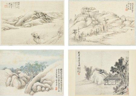 Dai Xi 1801 - 1860 戴熙 1801-1860 | Landscapes 山水小景