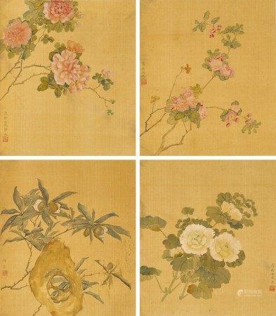 Yun Bing (17th century) 惲冰 (十七世紀) | Flowers 花卉集錦