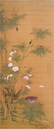 Jiang Tingxi 1669 - 1732 蔣廷錫 1669-1732 | Birds and Flowers after Yuan Masters 仿元人花鳥