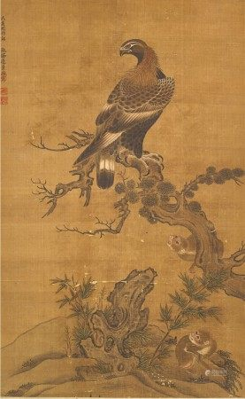 Attributed to Bian Jingzhao 邊景昭(款) | Eagle 鷹