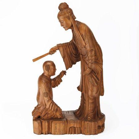 黃龜理 木雕 1968年作