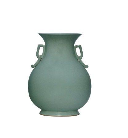 曉芳窯 雙耳花瓶
