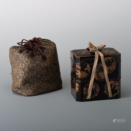 平蒔繪 多層香盒