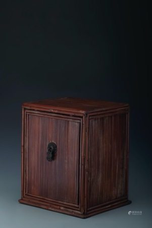 清代 竹櫃