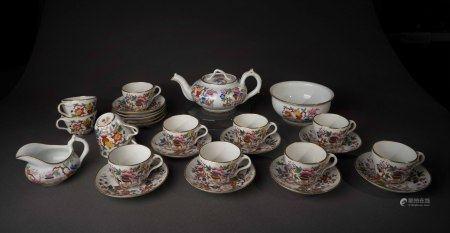 19世紀 俄羅斯茶具組(27件)