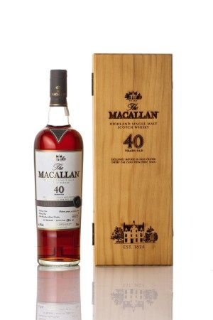 The Macallan 40 Year Old 2017 Release 44.0 abv NV (1 BT70)