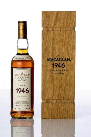 The Macallan Fine & Rare 56 Year Old 44.3 abv 1946 (1 BT70)