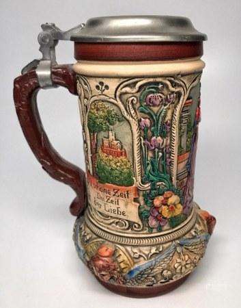 Vintage Germany Beer Mug Stein