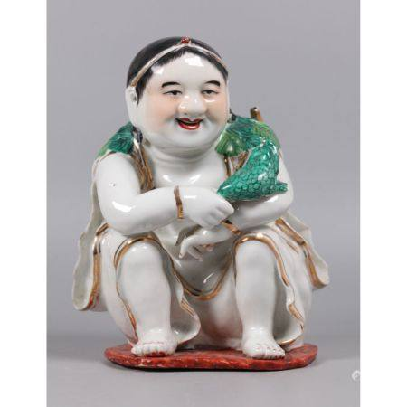 Chinese porcelain figure, possibly Republican period