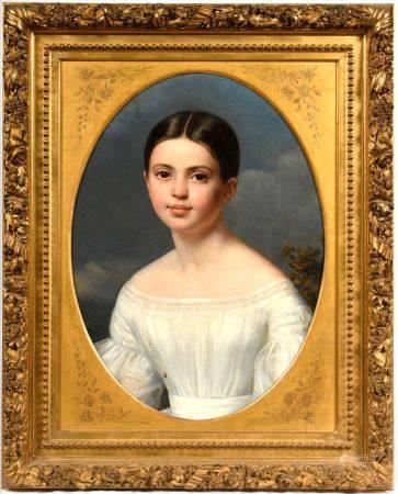 Louise Pauline Julie VOLPELIERE (Marseille1783 - Paris 1842) Portrait présumé d'Aglae Françoise
