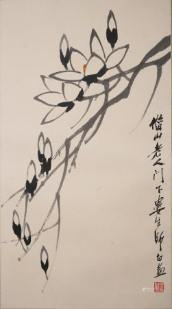 婁師白  玉蘭花