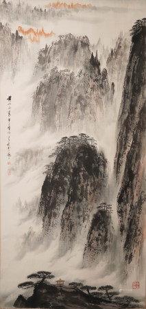 徐翼  黃山図