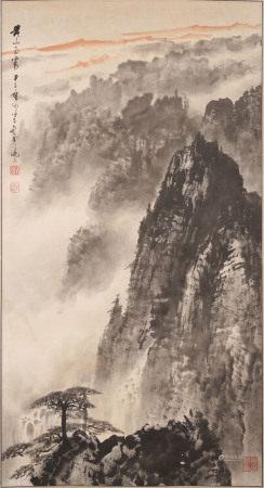 徐子  黃山図