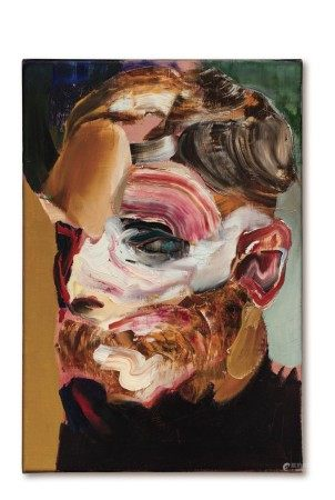 Adrian Ghenie 亞德里安・格尼 | Self-Portrait in 1945 1945年的自畫像