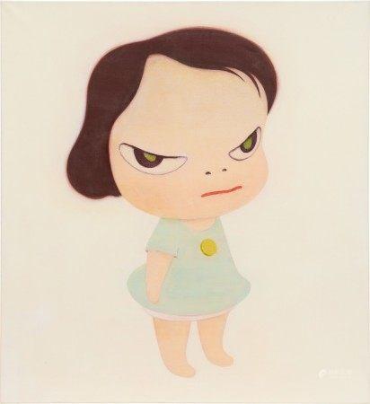 Yoshitomo Nara 奈良美智 | Frog Girl 青蛙女孩