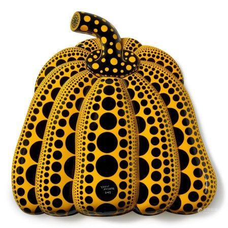 Yayoi Kusama 草間彌生 | I Carry on Living with the Pumpkins 我繼續與南瓜相伴生活