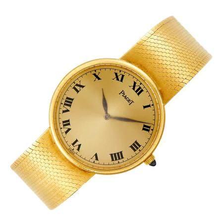 Piaget Gentleman's Gold Wristwatch