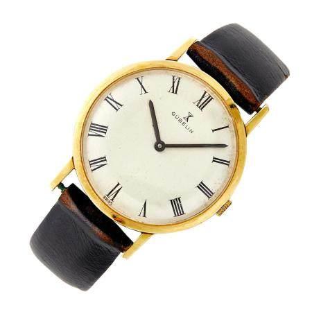 Gubelin Gentleman's Gold Wristwatch
