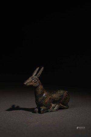 戰國 鄂爾多斯青銅鹿