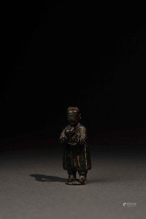 唐以前 青銅立俑
