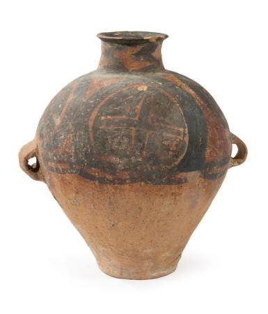 Chinese Neolithic Painted Pottery Storage Jar