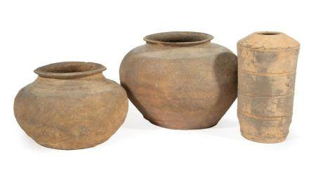 Three Early Chinese Pottery Jars