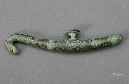 Antique Chinese Bronze Belt-Hook