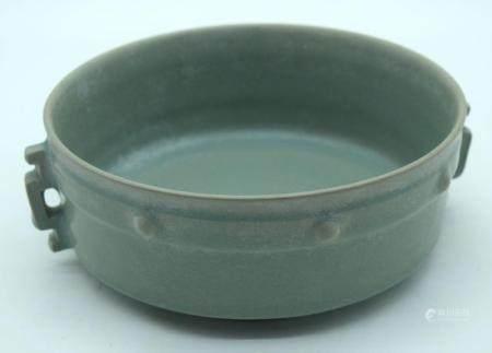 A Chinese Ru Ware bowl 18cm x 7cm.