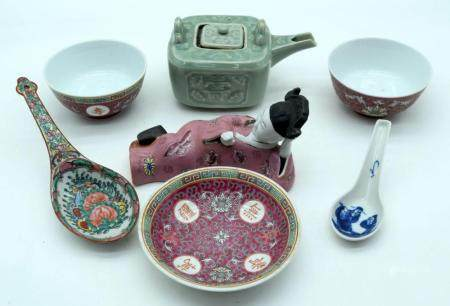 Miscellaneous group of Chinese ceramics 22cm (7)